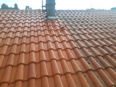 Nettoyage traitement toiture